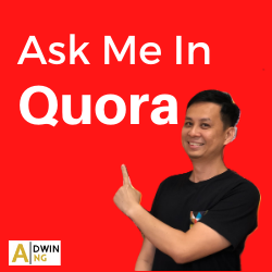 Ask Adwin In Quora